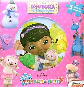 Doutora Brinquedos: Meu Primeiro Livro Quebra-cabeças