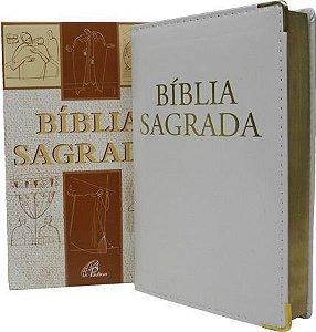 Bíblia Sagrada - Nova Tradução na Linguagem de Hoje - Edição de Luxo Branca