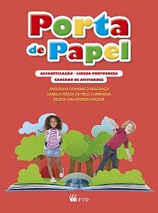 Porta de Papel - Alfabetização - Língua Portuguesa - Caderno de Atividades