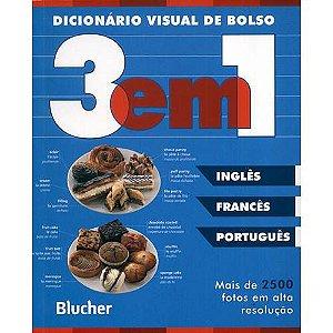 Dicionário Visual de Bolso 3 em 1 - Inglês / Francês / Português