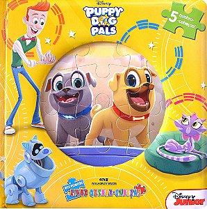 Puppy Dog Pals - Meu Primeiro Livro Quebra-cabeças