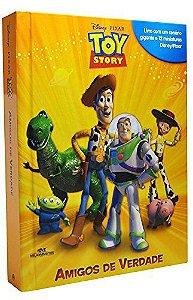 Toy Story - Amigos de Verdade - Livro com Cenário e Miniaturas