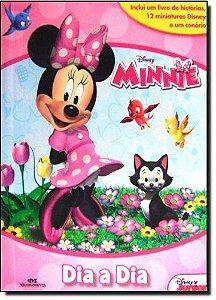 Disney Minnie - Dia a Dia - Livro com Cenário e Miniaturas