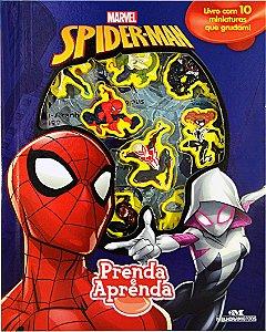 Spider Man – Prenda e Aprenda - Livro com Cenário e Miniaturas