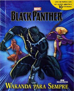 Pantera Negra - Black Panther – Wakanda Para Sempre - Livro com Cenário e Miniaturas