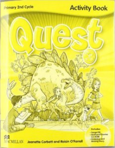 Quest Activity Book Pack W/CD-Rom/Audio CD Songs/Gr Diary-3