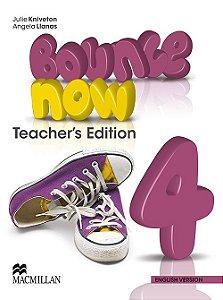 Bounce Now Teacher's Book-4