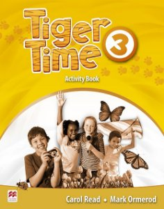 Tiger Time Activity Book-3