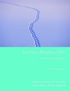 Teaching Reading Skills In A Foreign Language