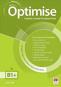 Optimise Teacher's Book Premium Pack B1+