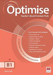 Optimise Teacher's Book Premium Pack B1