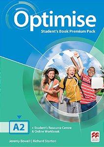 Optimise Student's Book Premium Pack A2