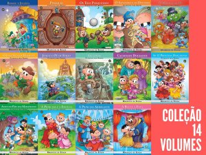 Coleção Turma da Mônica em Clássicos para Sempre - 14 Volumes