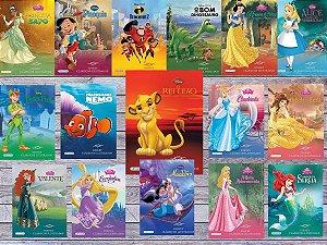 Coleção Disney Clássicos Ilustrados - 16 Volumes