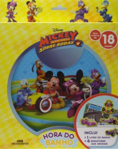 Mickey Aventura Sobre Rodas - Hora do Banho