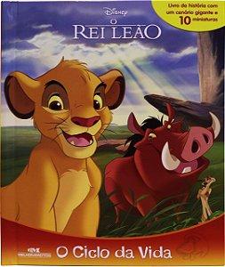 O Rei Leão – O Ciclo da Vida - Livro com Cenário e Miniaturas