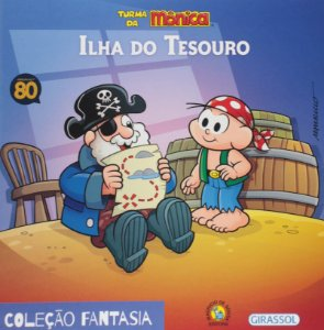 Turma da Mônica Fantasia - Ilha do Tesouro