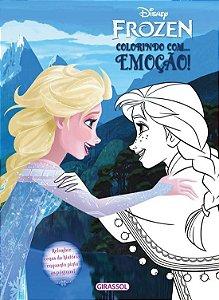 Disney Frozen - Colorindo com Emoção