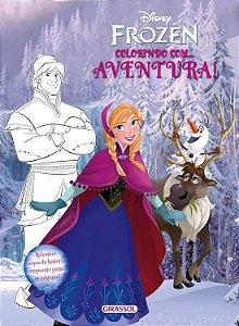 Disney Frozen - Colorindo com Aventura