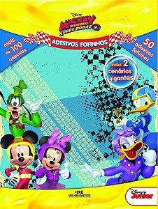 Adesivos Fofinhos - Mickey Aventuras Sobre Rodas
