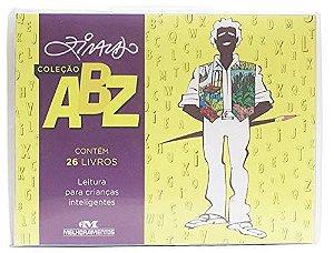 Luva Coleção ABZ Ziraldo - 26 Livros - Leitura para Crianças Inteligentes