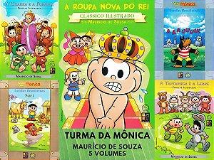 Coleção Turma da Mônica Maurício de Souza - 5 Volumes