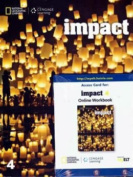 Impact 4 - American - Student's Book With Online Workbook