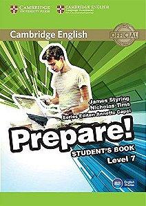Cambridge English Prepare! 7 - Student's Book