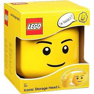 Caixa Organizadora LEGO ® Iconic Boy (Tamanho Grande)