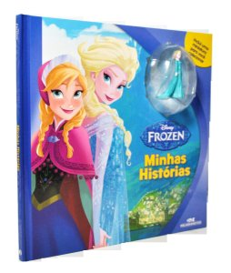 Frozen - Minhas Histórias - Livro e Miniatura