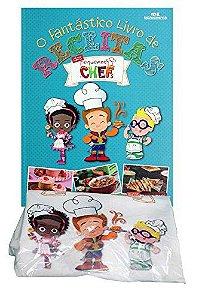 O Fantástico Livro de Receitas dos Pequenos Chefs - Livro e Avental