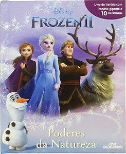 Frozen 2 - Poderes da Natureza - Livro com Cenário e Miniaturas