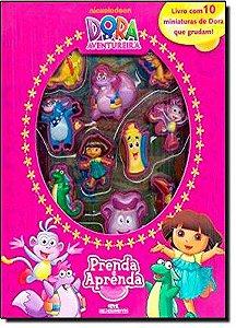 Dora, A Aventureira: Prenda e Aprenda - Livro com Cenário e Miniaturas