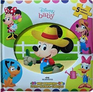 Disney Baby - Meu Primeiro Livro Quebra-Cabeças