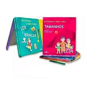 Coleção Ler E Brincar 12 Volumes Ruth Rocha