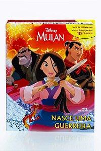 Mulan - Nasce uma Guerreira - Livro com Miniaturas
