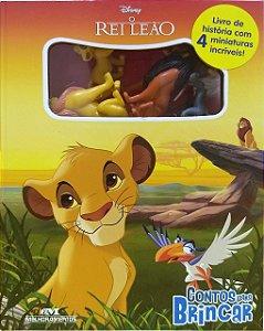 O Rei Leão: Contos para Brincar - Livro com Miniaturas