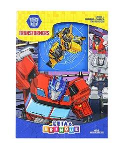 Transformers - Leia e Brinque