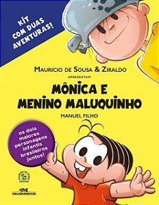 Mônica e Menino Maluquinho: Kit com 2 Aventuras