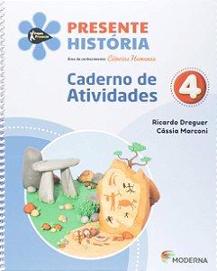 Presente História 4 - Caderno de Atividades - Edição 5