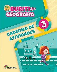 Buriti Plus Geografia 3 - Caderno de Atividades
