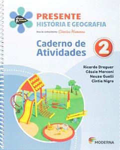 Presente Ciências Humanas - História e Geografia - Caderno de Atividades - 2º Ano - Edição 5