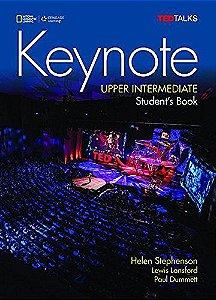 Keynote - BRE - Upper-Intermediate - Student Book + DVD-ROM + MyELT Online Workbook, Printed Access Code