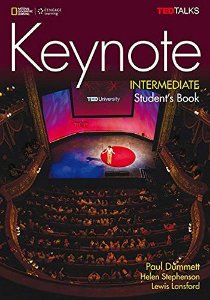 Keynote - BRE - Intermediate - Student Book + DVD-ROM + MyELT Online Workbook, Printed Access Code