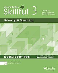 Skillful Listening & Speaking 3 - Teacher's Book Pack Premium