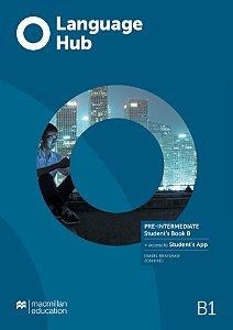Language Hub- Student's Pack B & App - Pre-Intermediate B1 W/Wb (W/Key)