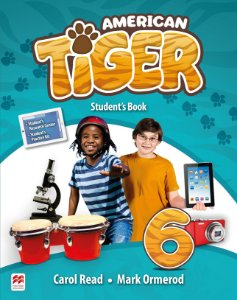 American Tiger 6 - Student's Book With Workbook Pack