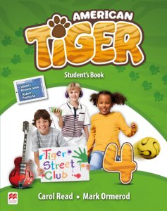 American Tiger 4 - Student's Book With Workbook Pack