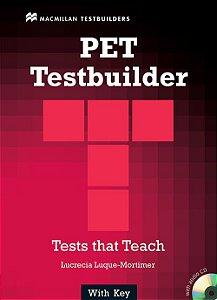 Pet Testbuilder With Audio CD (W/Key)