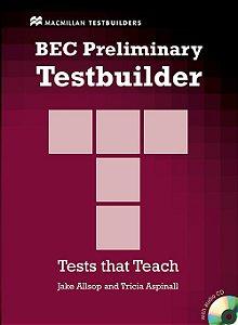 BEC Preliminary Testbuilder With Audio CD